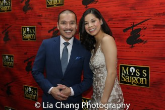 Jon Jon Briones and Eva Noblezada. Photo by Lia Chang