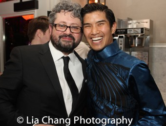 Laurence Connor and Christopher Vo. Photo by Lia Chang