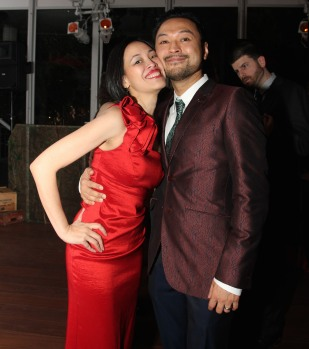 Lia Chang and Billy Bustamante. Photo by Christopher Vo