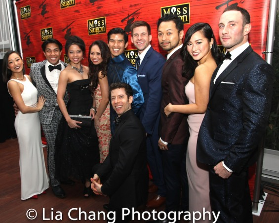 Lina Lee, Robert Pendilla, Catherine Ricafort, Carol Angeli Wynn, Christopher Vo, Sam Strasfeld, Charlie Williams, Billy Bustamante, Tiffany Toh and Casey Lee Ross. Photo by Lia Chang