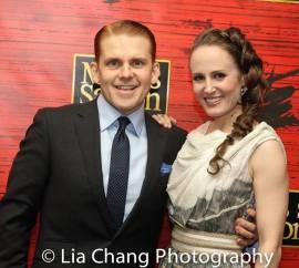 Robert Creighton and Ellen Zolezzi. Photo by Lia Chang