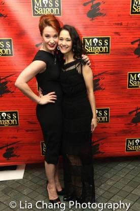 Sierra Boggess and Ali Ewoldt. Photo by Lia Chang