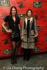 Tara Westwood and Carole Radziwell. Photo by Lia Chang