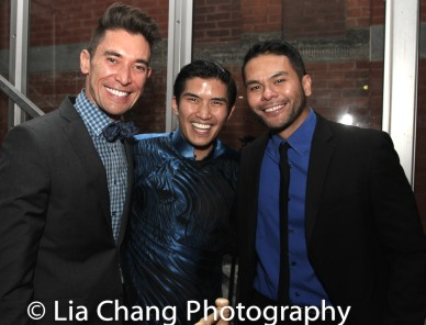 Tim Wildin, Christopher Vo and Bobby Pestka. Photo by Lia Chang