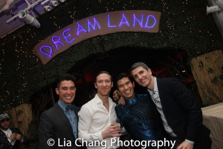 Tim Wildin, Ronnie Todorowski, Christopher Vo and Ryan Sander. Photo by Lia Chang