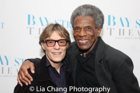 Patrick Christiano and André De Shields. Photo by Lia Chang