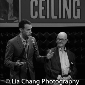 Andrew Lippa and Jules Feiffer. Photo by Lia Chang