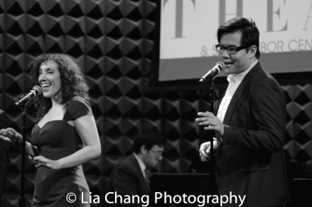 Gabrielle Stravelli and Kelvin Moon Loh. Photo by Lia Chang