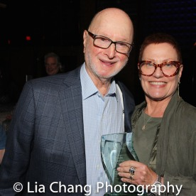 Jules Feiffer and his wife JZ Hanson. Photo by Lia Chang