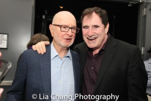 Jules Feiffer and Richard Kind. Photo by Lia Chang