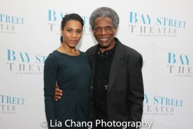 Kelly McCreary and André De Shields. Photo by Lia Chang