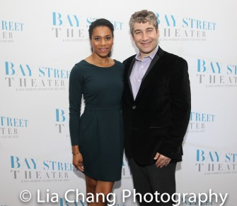 Kelly McCreary and Scott Schwartz. Photo by Lia Chang