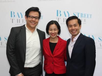 Kelvin Moon Loh, Lia Chang, Steven Eng. Photo by Barry Gordon