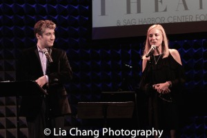 Bay Street's Artistic Director Scott Schwartz and Executive Director Tracy Mitchell. Photo by Lia Chang