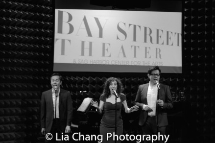 Steven Eng, Gabrielle Stravelli and Kelvin Moon Loh. Photo by Lia Chang