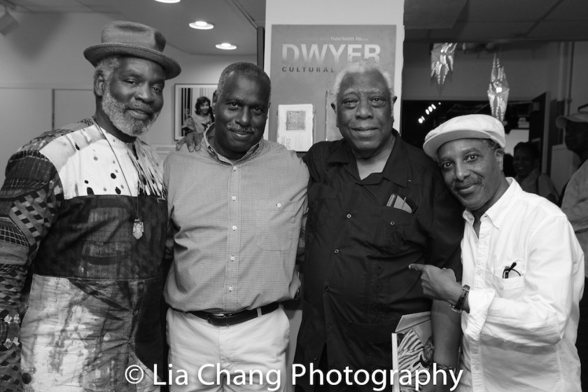Rome Neal, Juney Smith, Woodie King, Jr. and Ron Scott. Photo by Lia Chang
