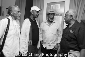 Charles Weldon, Richard Wesley, A. Dean Irby and Woodie King Jr. Photo by Lia Chang