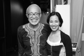 Cliff Frazier and Lia Chang Photo by Garth Kravits