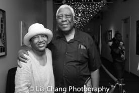 Elizabeth Van Dyke and Woodie King Jr. Photo by Lia Chang