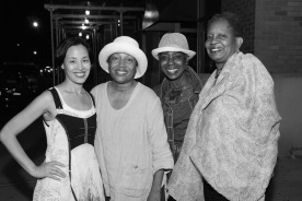 Lia Chang, Elizabeth Van Dyke, Marjorie Johnson and Brenda Denmark Photo by Lia Garth Kravits