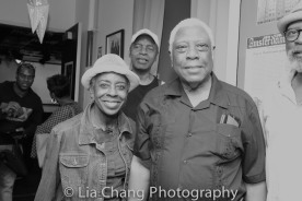 Marjorie Johnson and Woodie King, Jr. Photo by Lia Chang