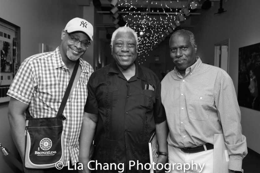 Reed R. McCants, Woodie King, Jr. and Juney Smith Photo by Lia Chang