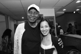 Richard Wesley and Lia Chang Photo by Garth Kravits