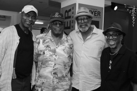 Richard Wesley, George Lee Miles, A. Dean Irby and Paul Griffin Photo by Lia Chang
