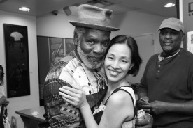 Rome Neal and Lia Chang Photo by Garth Kravits