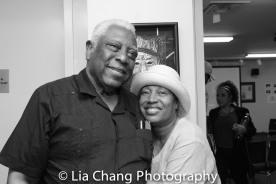 Woodie King, Jr. and Elizabeth Van Dyke Photo by Lia Chang