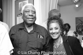 Woodie King, Jr. and Joyce Sylvester Photo by Lia Chang