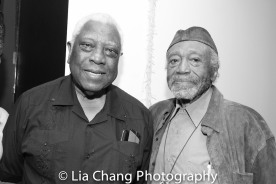 Woodie King, Jr. and Otto Neals Photo by Lia Chang