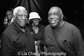 Woodie King, Jr. and A. Peter Bailey Photo by Lia Chang