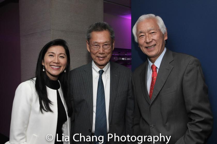 Agnes Hsu-Tang, Thomas Sung and Oscar Tang. Photo by Lia Chang