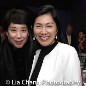 Doris Magsayay Ho and Agnes Hsu Tang Photo by Lia Chang-133