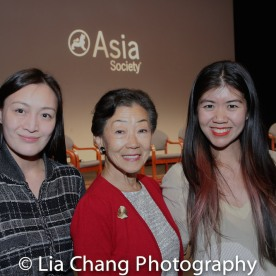 Lulu Wang and guests. Photo by Lia Chang