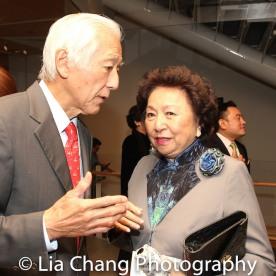 Oscar Tang and Shirley Young Photo by Lia Chang