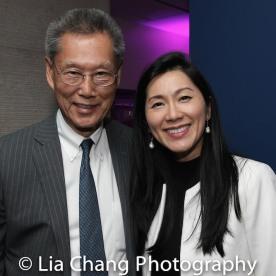 Thomas Sung and Agnes Hsu-Tang Photo by Lia Chang