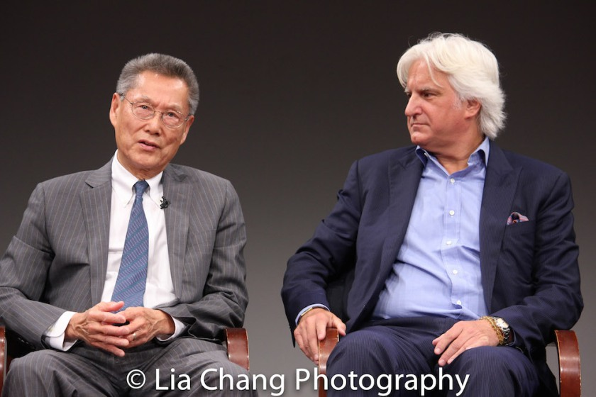 Thomas Sung and Mark Mitten. Photo by Lia Chang
