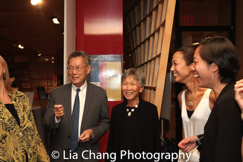 Thomas Sung, Hwei Lin Sung, Heather Sung, and Chanterelle Sung. Photo by Lia Chang