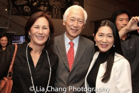 Tracy Tang, Oscar Tang, and Agnes Hsu-Tang. Photo by Lia Chang