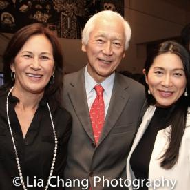 Tracy Tang, Oscar Tang, and Agnes Hsu-Tang. Photo by Lia Chang