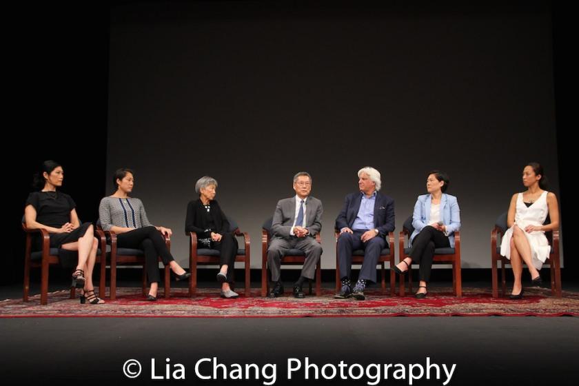 Vera Sung, Chanterelle Sung, Hwei Lin Sung, Thomas Sung, Mark Mitten, Jill Sung and Heather Sung. Photo by Lia Chang