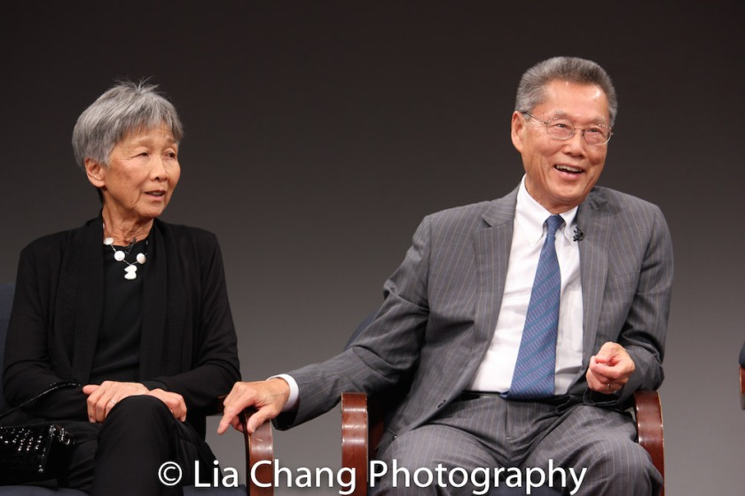 Hwei Lin Sung and Thomas Sung. Photo by Lia Chang