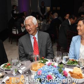 Hwei Lin Sung, Oscar Tang and Jill Sung. Photo by Lia Chang