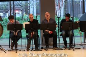 Ben Bartels, David Eng, Viet Vo and Eric Elizaga. Photo by Lia Chang