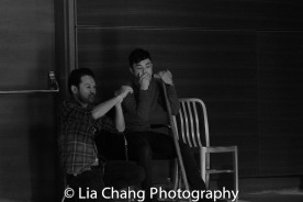 GOLD MOUNTAIN choreographer Billy Bustamante and Jonny Lee, Jr. Photo by Lia Chang