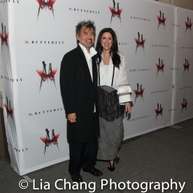 David Henry Hwang and Julie Taymor. Photo by Lia Chang