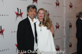 David Henry Hwang and Kathryn Layng. Photo by Lia Chang