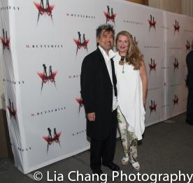 David Henry Hwang and Kathryn Layng. Photo by Lia Chang